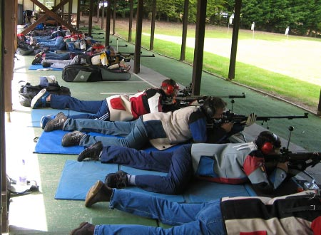 Outdoor 100 yards Small-bore Rifle Shooters